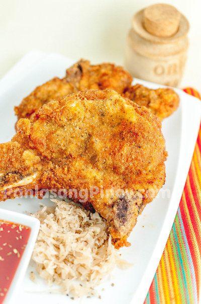 Deep Fried Seasoned Pork Chop