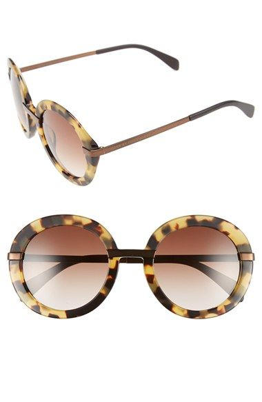 MARC BY MARC JACOBS 51mm Retro Sunglasses available at #Nordstrom