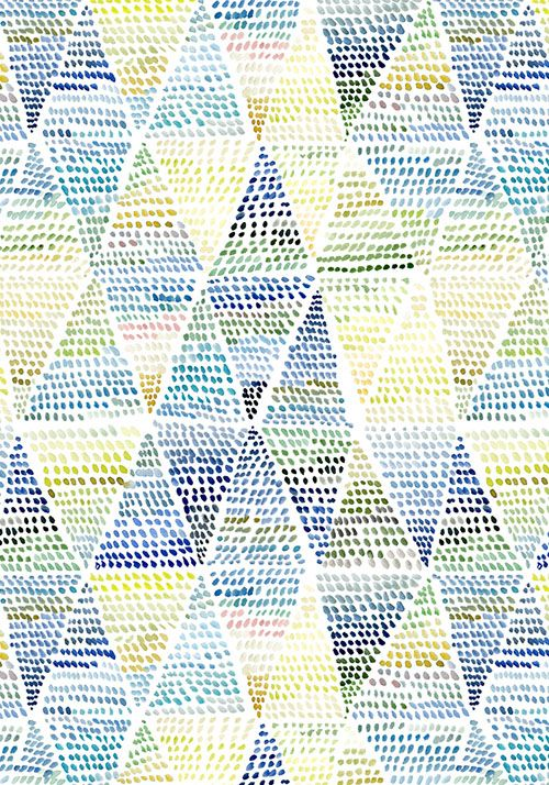 Triangle Dot pattern design- Yao Cheng Design