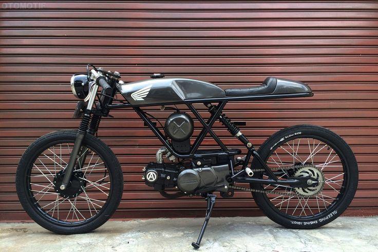 Custom Motorcycle - Honda Win 100 Vintage Cafe Racer 1