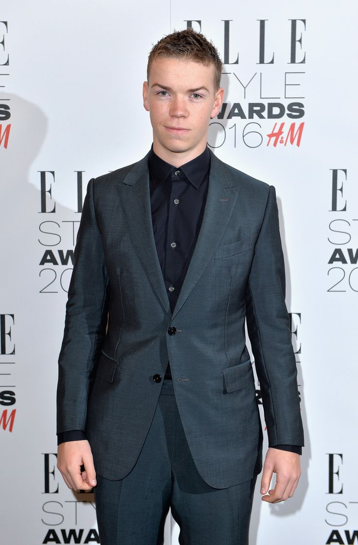 May we all just take a moment and acknowledge that Will is at an Elle Style Awards for H&M... #swag