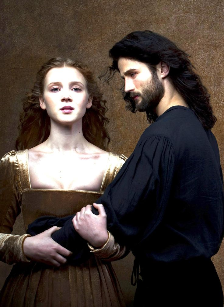 Isolda Dychauk as Lucrezia Borgia Mark Ryder as Cesare Borgia