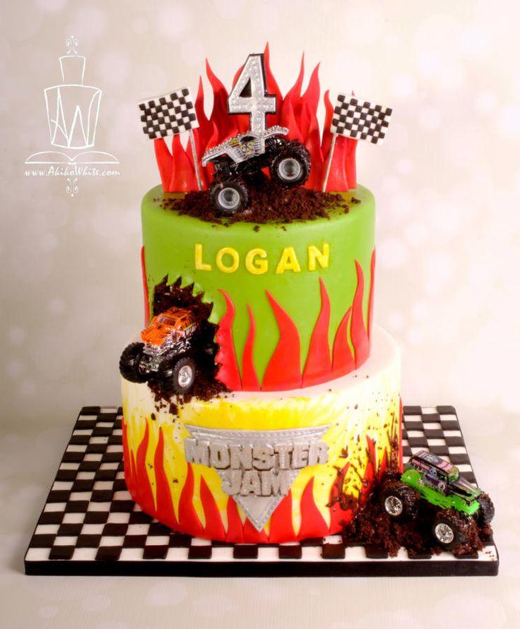 Monster Truck Cake - Cake by Akiko White