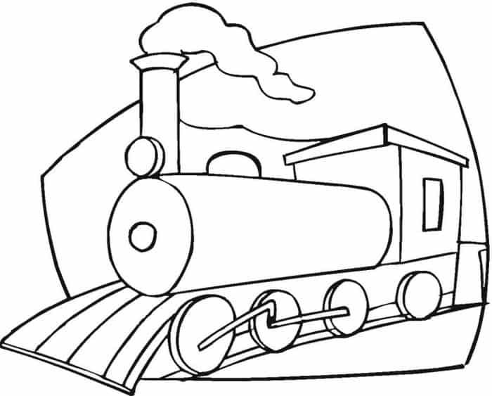 Train Coloring Pages For Preschoolers Train Coloring Pages Coloring Pages Cars Coloring Pages