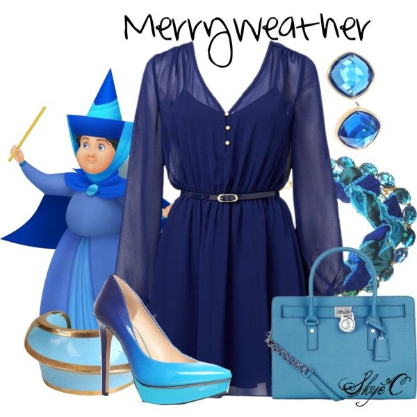 """Merryweather - Disney's Sleeping Beauty"" by rubytyra on Polyvore"