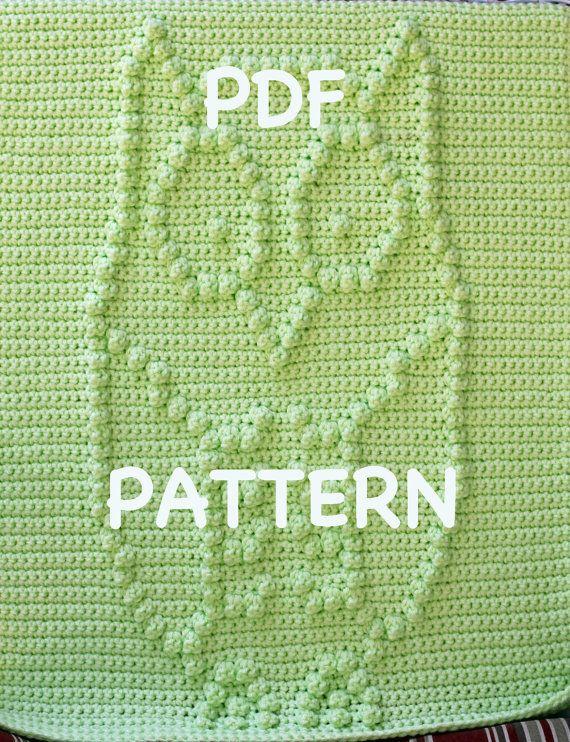 Hooty the Owl Baby Blanket Pattern  Crochet Pattern by TheBabyCrow
