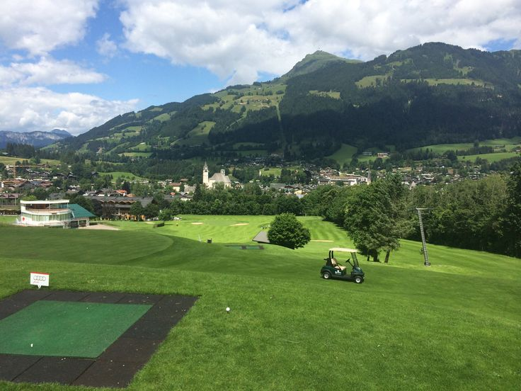 #GolfclubRasmushof mit Blick auf #Kitzbühel