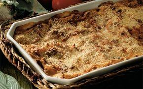 Lasagne En ægte klassiker der bringer glæde ved middagsbordet hele året rundt!