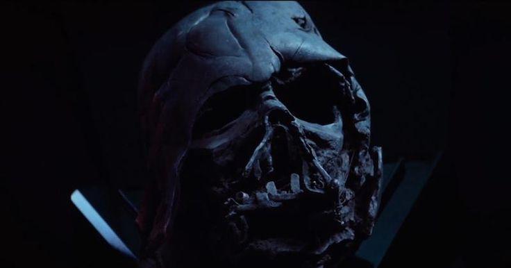 Star Wars VII : la relique du casque de Dark Vador que détient Kylo Ren est fausse !