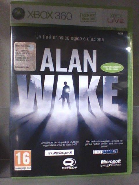 ALAN WAKE    XBOX360  ITA
