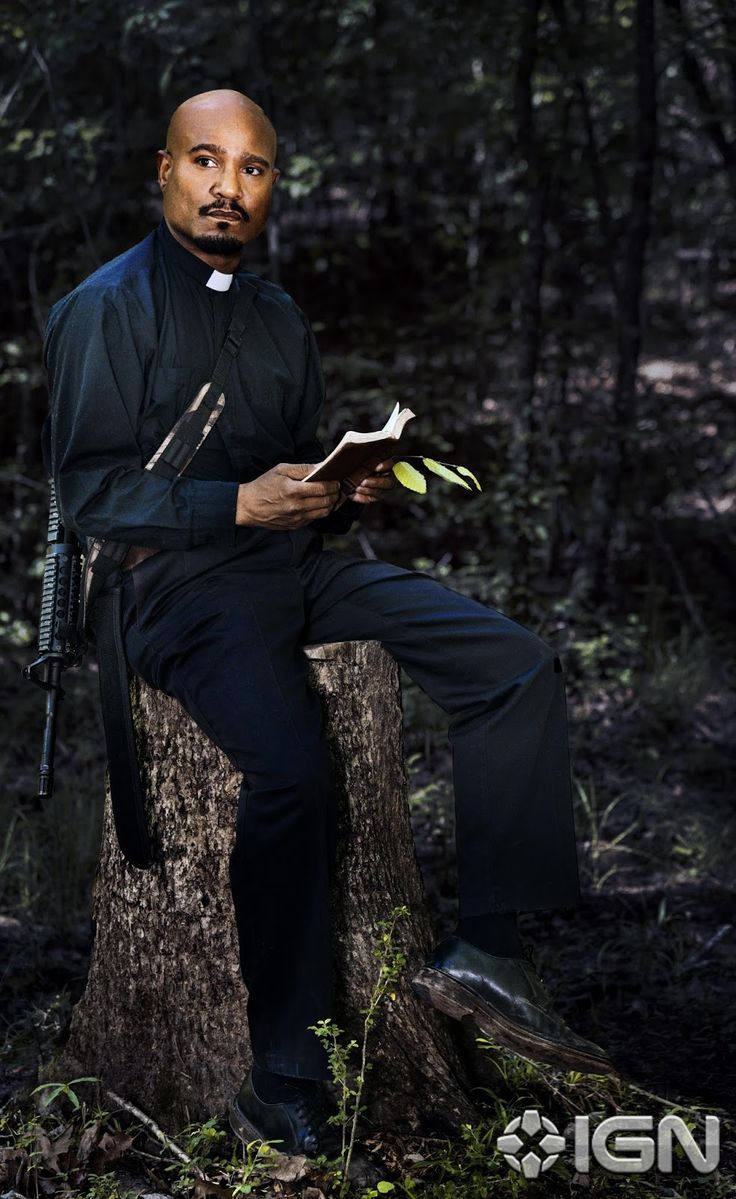 Seth Gilliam in The Walking Dead Season 8 (67)