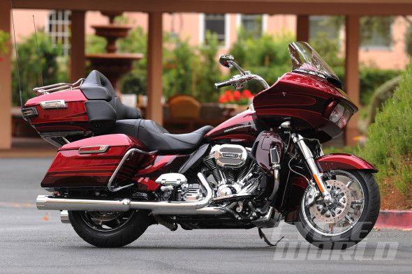 2015 Harley-Davidson CVO Road Glide Ultra static side view