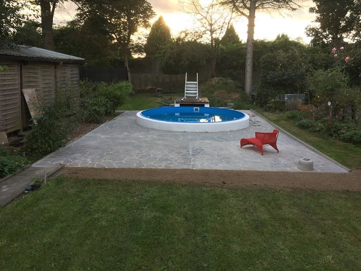 25+ Best Ideas About Pool Selber Bauen On Pinterest | Schwimmbad ... Pool Im Garten Losungen Budget