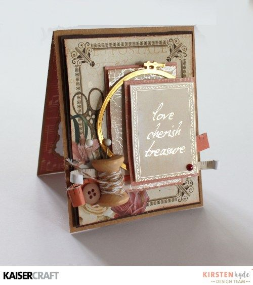 KAISERCRAFT - MADEMOISELLE - SET OF CARDS - KIRSTEN HYDE - MYHYDEAWAY - 2
