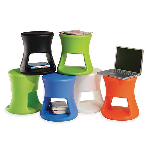 Demco.com -  Offi Side Table These side tables also function as stools. Having flexible and movable seating promote socialization and collaboration.