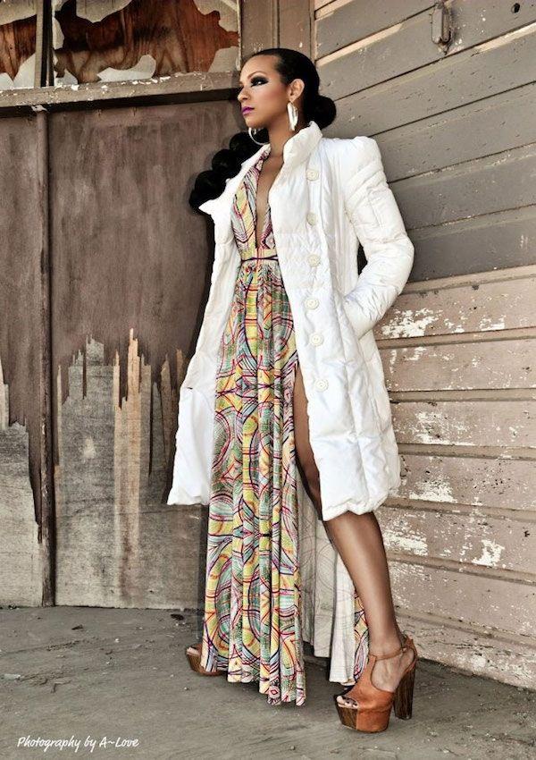 Regal & Elegant:  Phenomenal Fashion Designer - Maisha Bahati