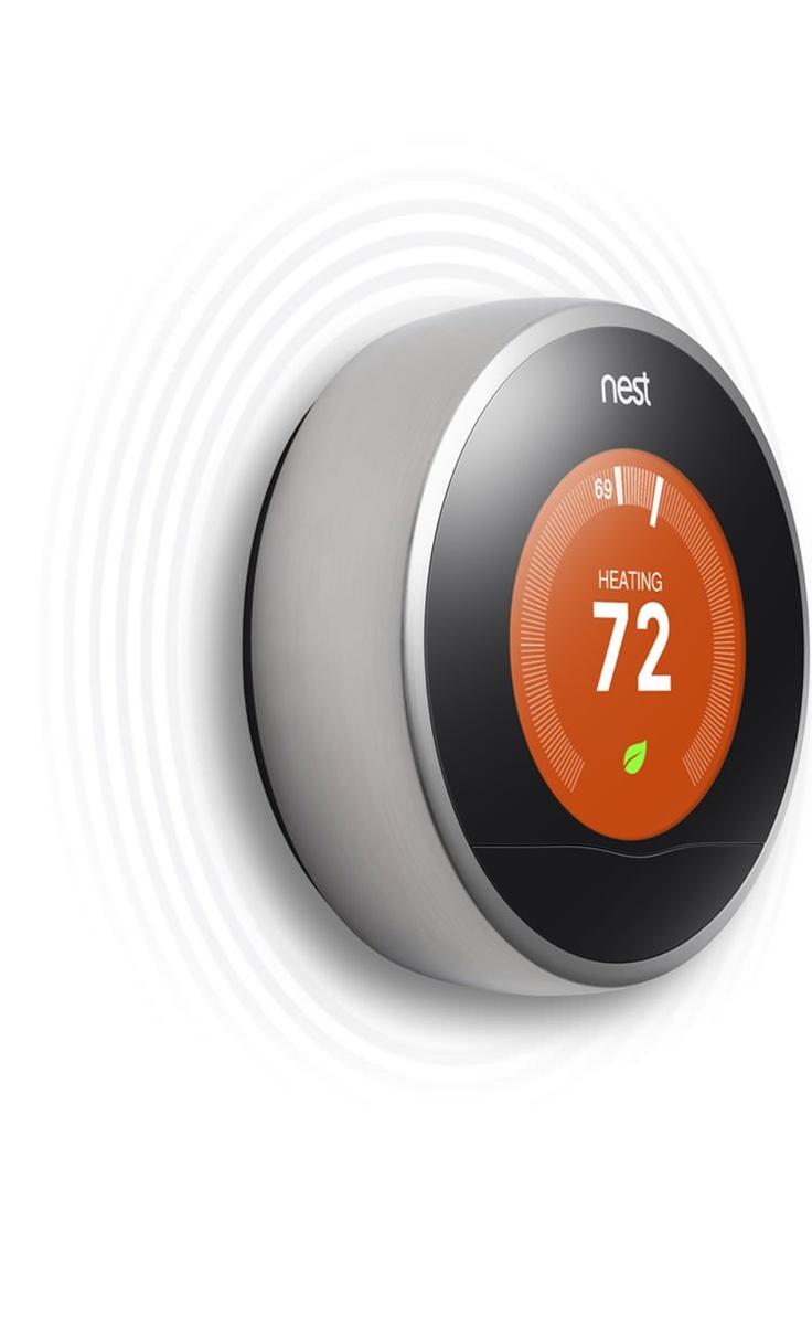 Nest: Wifi heating control