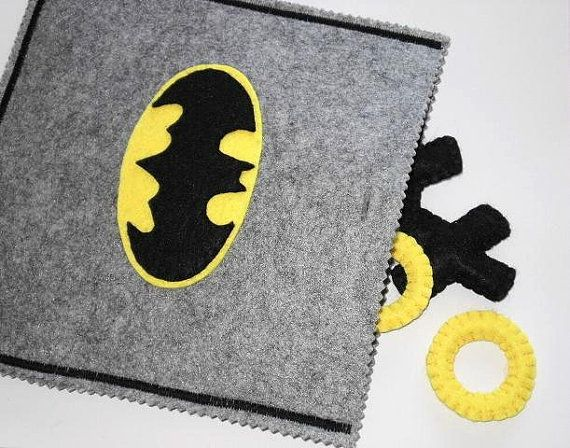Tic Tac Toe  READY TO SHIP  Batman game  Boys by twinsandcrafts, $35.00