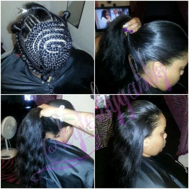 3 Part Sew-in Shared By Gabby Mahair -