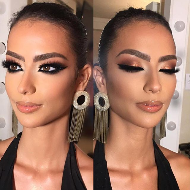 Arabic makeup #alcantaramakeup #hudabeuaty #anastasiabeverlyhills #makeupartist