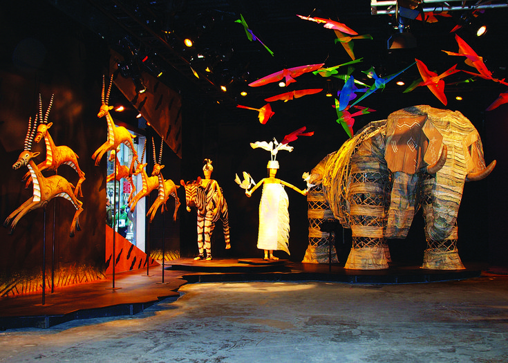 """Disney Theatricals Celebrate 15 Years Of The Lion King with """"Inside The Lion King"""" Exhibit in NYC 