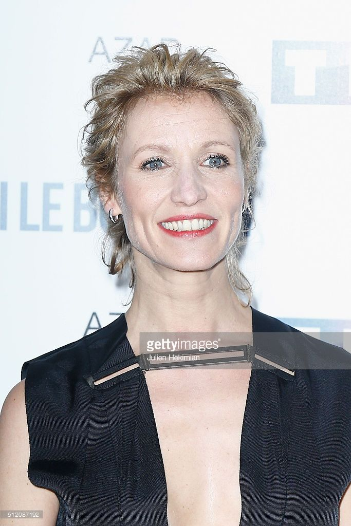 Photo d'actualité : Alexandra Lamy attends 'Apres Moi Le Bonheur'...