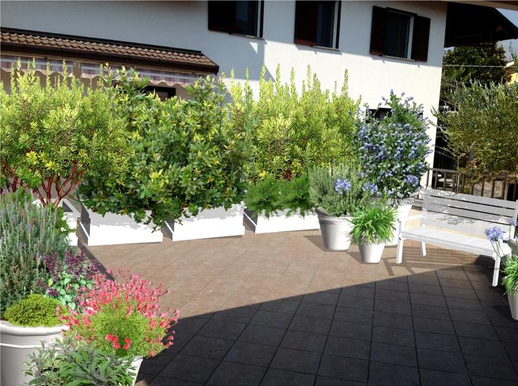 Progettazione terrazzi a milano