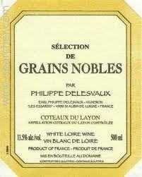 coteaux du layon selection de grains nobles delesvaux 1997