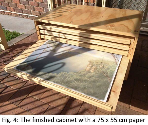 Laura Grogan Wildlife Art | Building a flat file paper storage cabinet - Part 2 (sanding and varnishing)