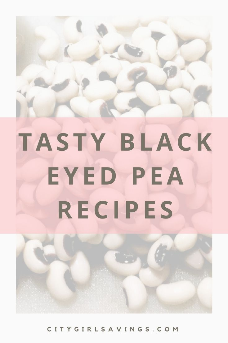 Did you know that eating black-eyed peas on New Year's Eve is said to bring you good luck in the New Year? Whether it's true or not, why not try to bring a little extra luck on your side! We're sharing 3 tasty black-eyed pea recipes for you to consider whipping up on New Year's Eve!