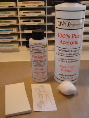 image transfer using acetone - get a clean, crisp image especially if you are working with an image that has a lot of detail.