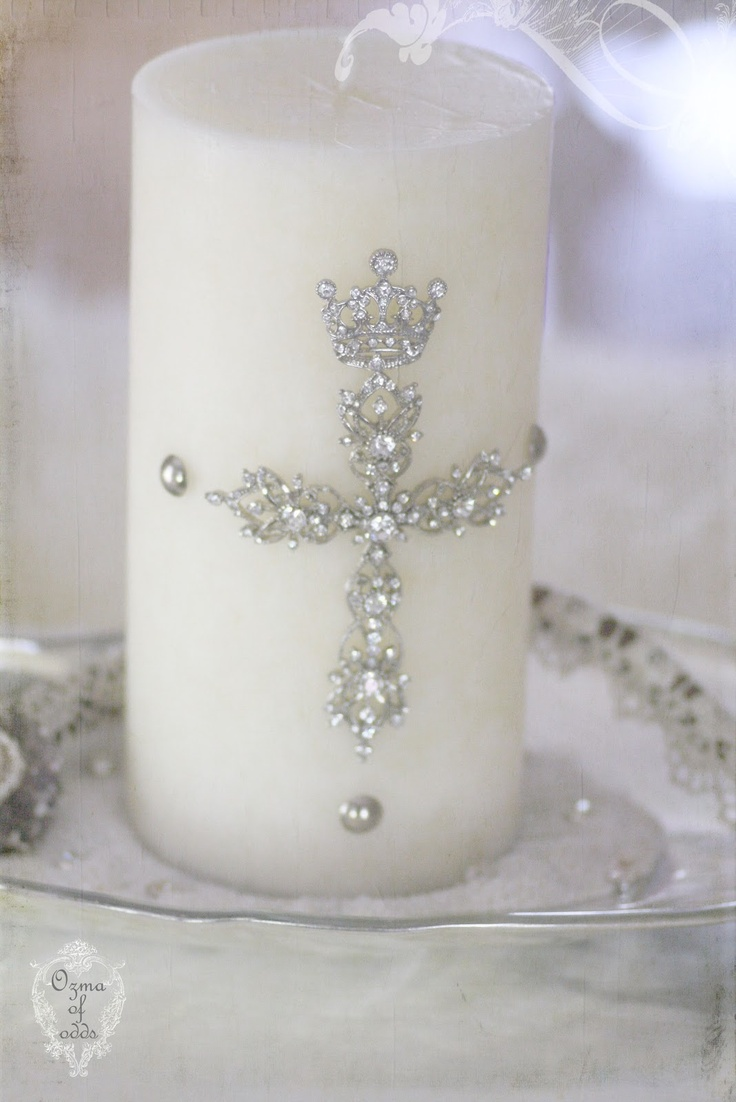 Ozma of odds: bling candle