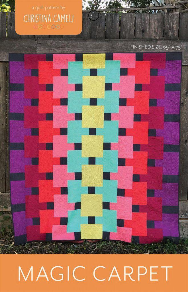 Magic Carpet | quilts | Modern quilt patterns, Quilt