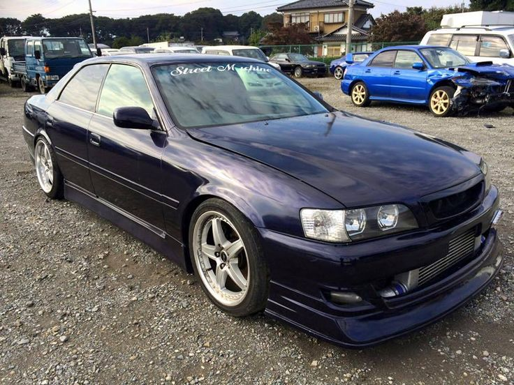BREAKING Toyota Chaser JZX100 1JZ 2JZ Supra JZX V160 R154 200SX