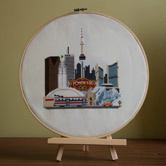 Toronto Cross Stitch Cross-Stitch Pattern by CrossStitchtheWorld