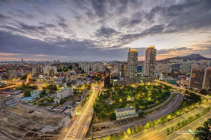 Beautiful sunsets in Seoul by Johan Han on 500px
