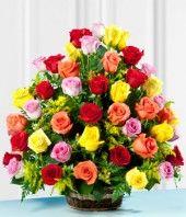 Canasta de Rosas Premium