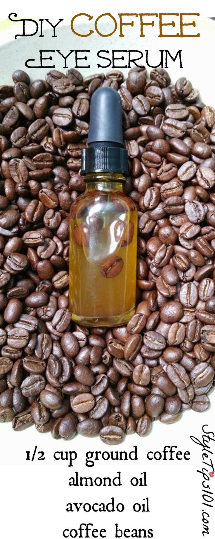 DIY Coffee Eye Serum