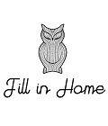 Вязаные вещи для дома ручной работы Fill in Home - уютные вязаные пледы, подушки, покрывала, одеяла. Делаем спальни стильными, детские-уютными, подарки душевными.