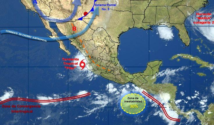 Pronóstico del clima en México para lunes 25 de septiembre - e-oaxaca Periódico Digital de Oaxaca