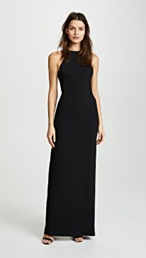 New Halston Heritage High Neck Gown online. Find the perfect La Vie Rebecca Taylor Clothing from top store. Sku hhqw20224lgfq76296
