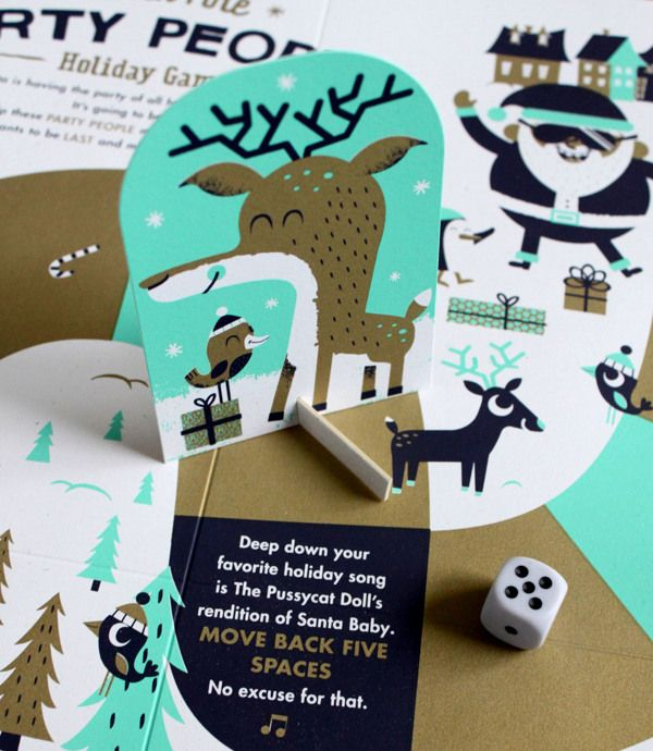 letterpress holiday goods by Tad Carpenter