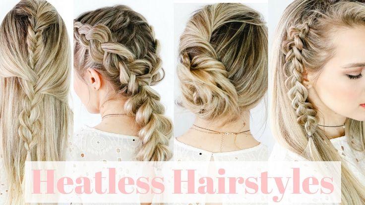 Heatless Hair Styles: 17 Best Ideas About Heatless Hairstyles On Pinterest