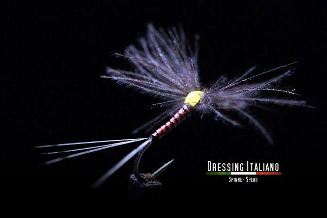 Dressing Italiano: SPINNER SPENT by Dressing Italiano - Fly Tying Ita...