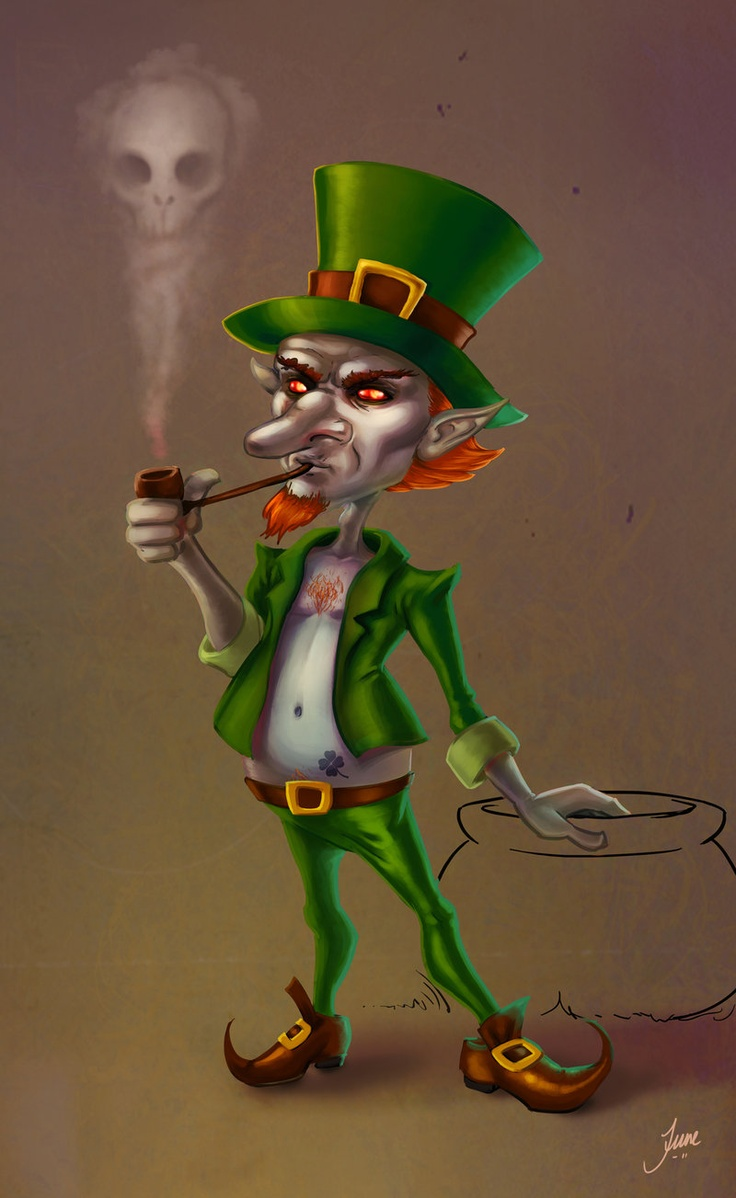 Uncategorized Leprechaun Myths 18 best leprechaun images on pinterest faeries drawing and drawings companion piece to clover link assignment for school design a hero monster villain this is my bad guy painted w