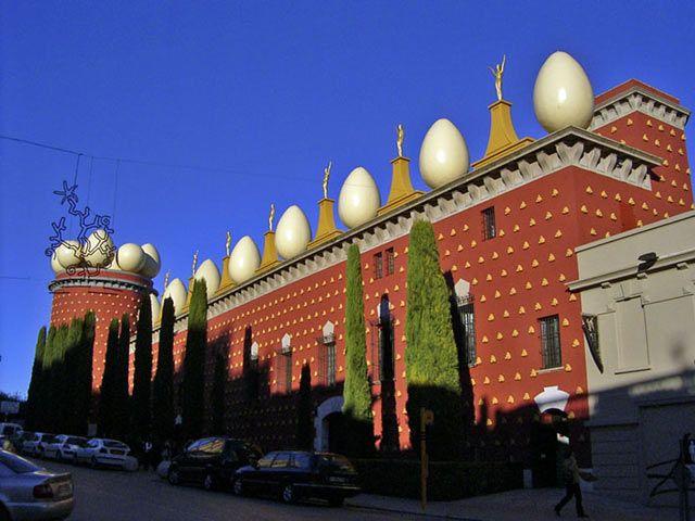 Salvador Dali museum at Figueras, near Barcelona