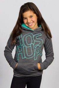Joshua Pullover hoodie, grey and blue