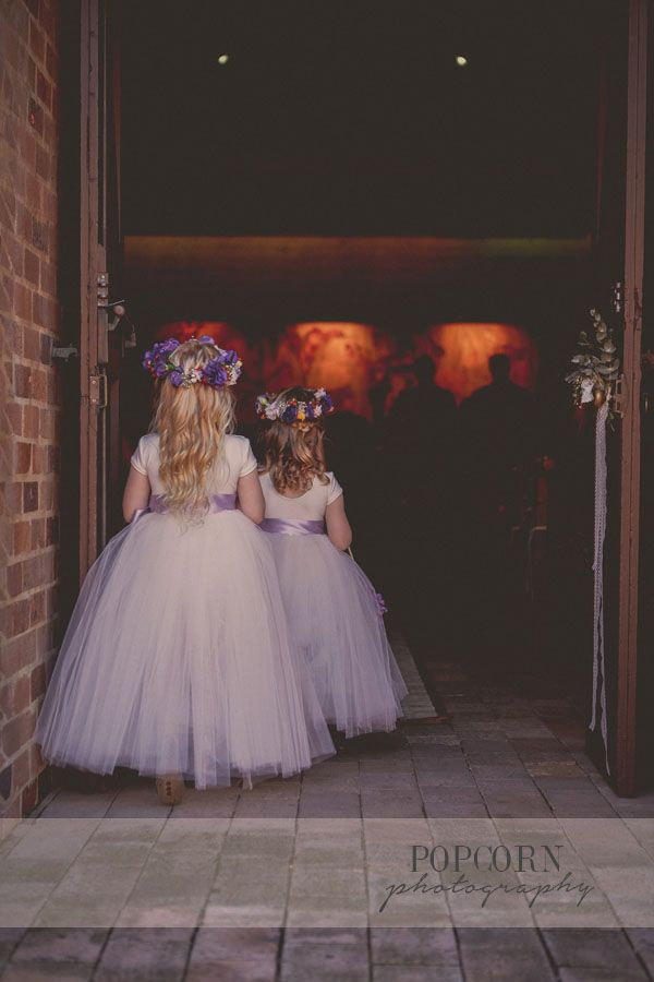 What beautiful little fairy flower girls! Wedding at Tocal Chapel  #tocalhomestead #wedding #huntervalleywedding #rustic #vintage www.tocalhomestead.com.au