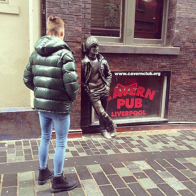 Liverpool a few weeks back #Beatles #culture #cavern
