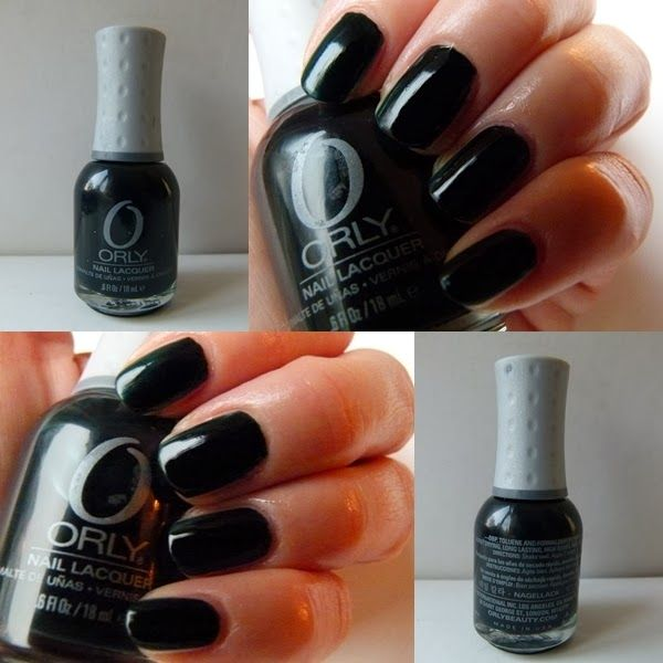 Neuer NOTD - mein Orly Nagellack Le Chateau mit Swatches und Review http://infarbe.blogspot.de/2014/11/notd-orly-le-chateau-nagellack-swatches.html